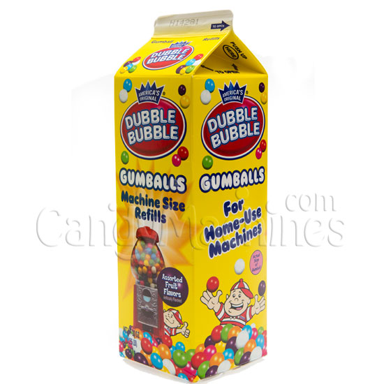 Dubble Bubble Gumball Refill - 20 oz Carton