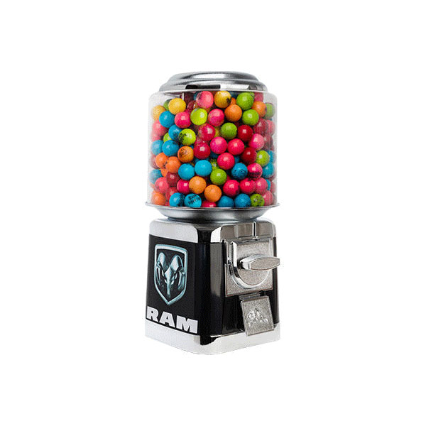 Automotive Dodge Gumball Machines