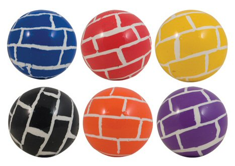 Brick Balls 45mm Super Bouncy Balls - 400 ct.