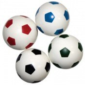 Soccer Ball 27mm Vending Bouncy Balls