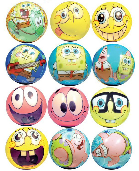 SpongeBob SquarePants 51mm Foam Balls