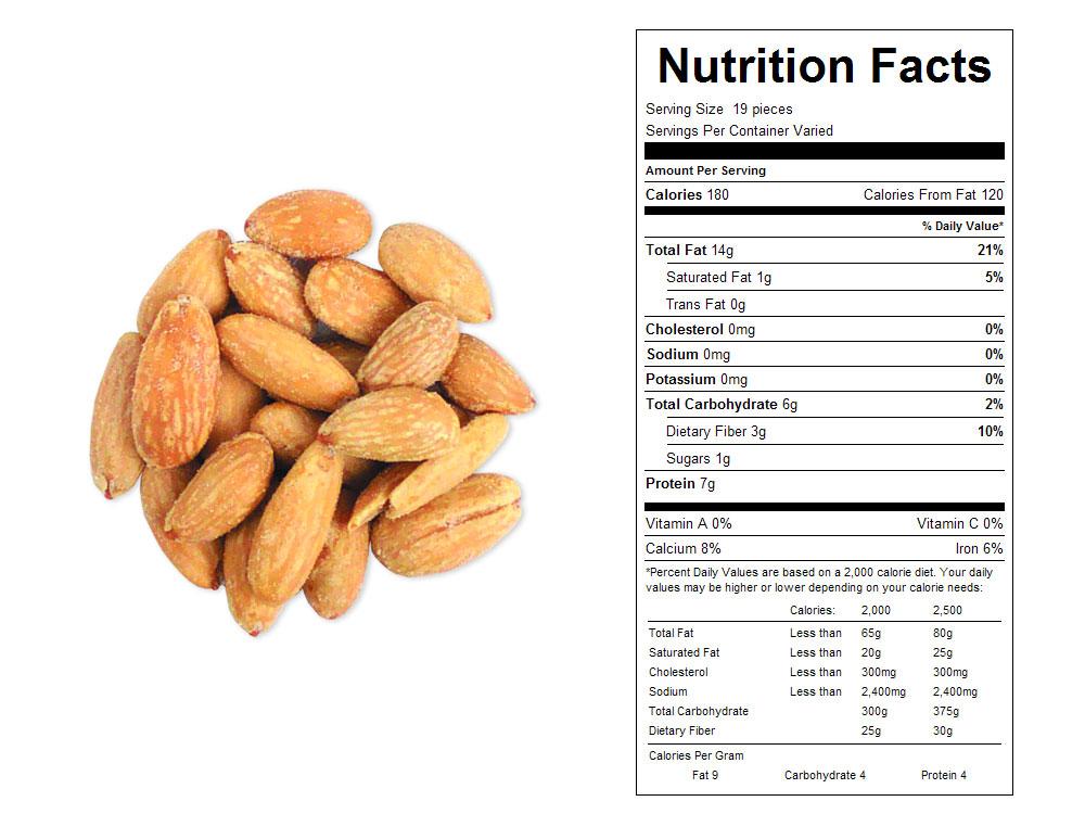 Buy Medium Whole Blanched Bulk Almonds (25 lbs) - Vending