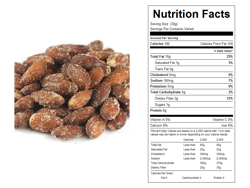 Buy Smokehouse Seasoned Bulk Almonds