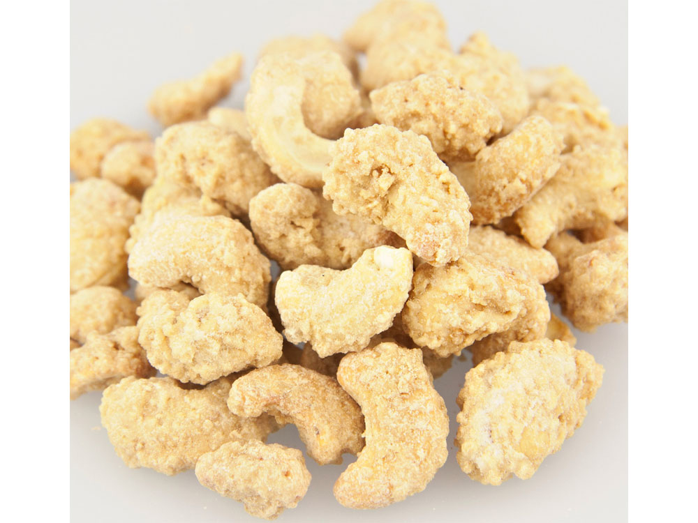 Coconut Crunch Coated Bulk Cashews