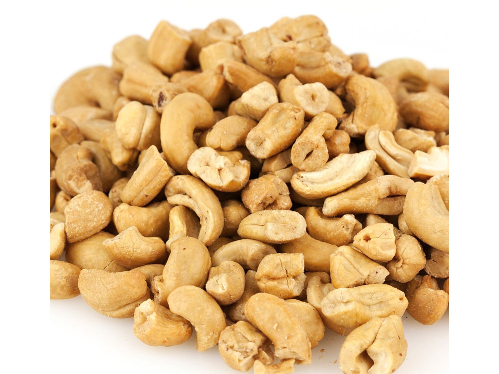 Large Unsalted Roasted Bulk Cashew Pieces