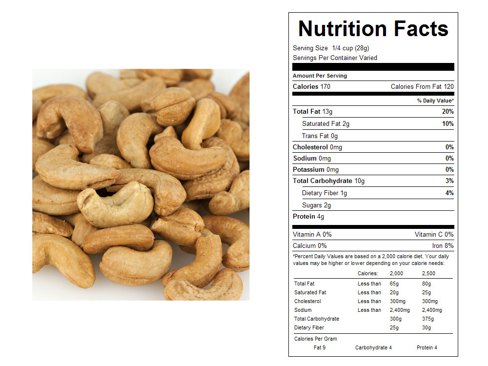 Buy Whole Unsalted Roasted Bulk Cashews Vending Machine Supplies For Sale