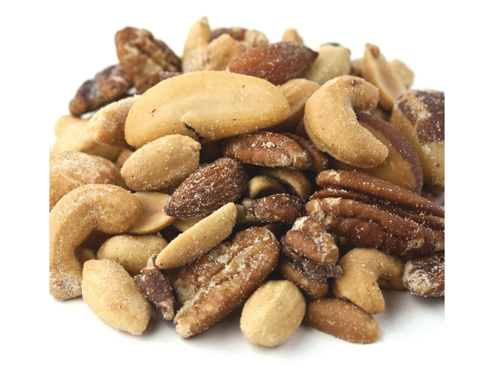 Roasted and Salted Bulk Mixed Nuts with Peanuts (15 lbs)
