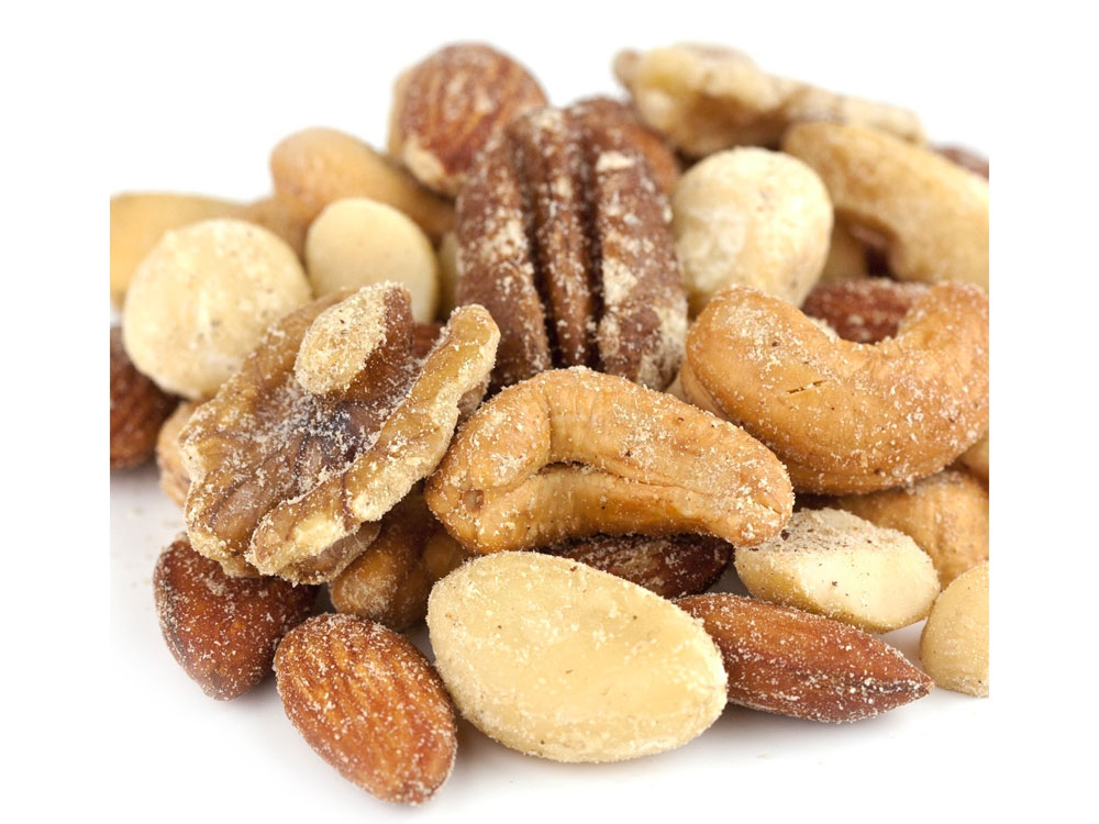 Roasted and Salted Premium Bulk Mixed Nuts (15 lbs)