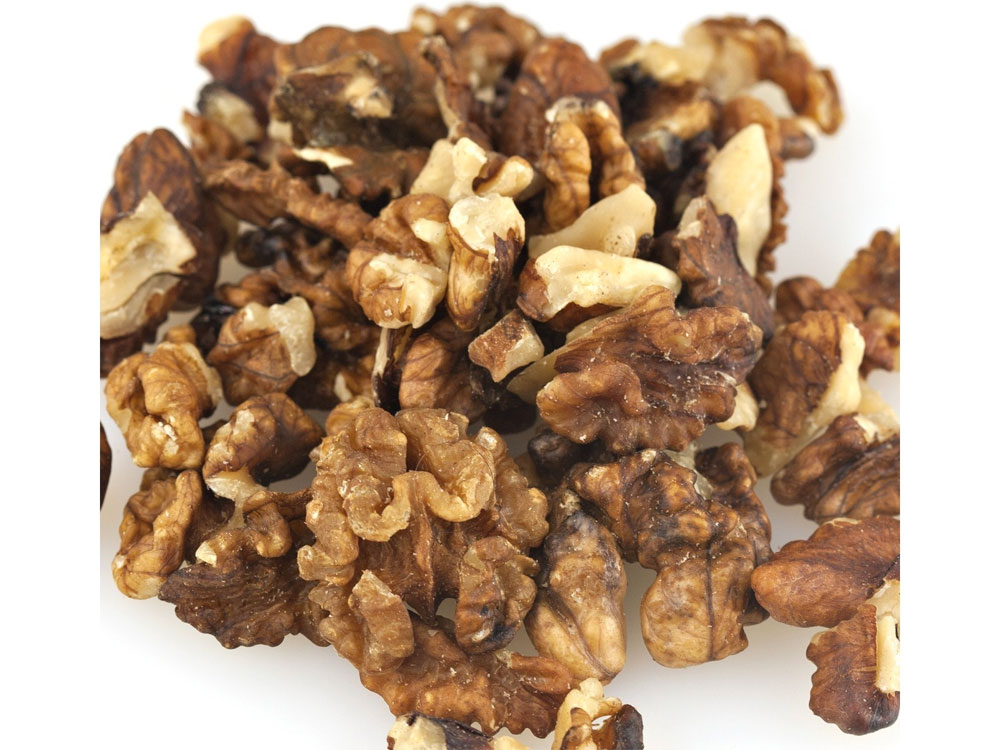 Organic Bulk Walnuts - Halves and Pieces (25 lbs)