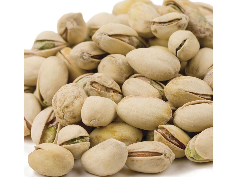 Roasted and Salted Bulk Pistachios (25 lbs)
