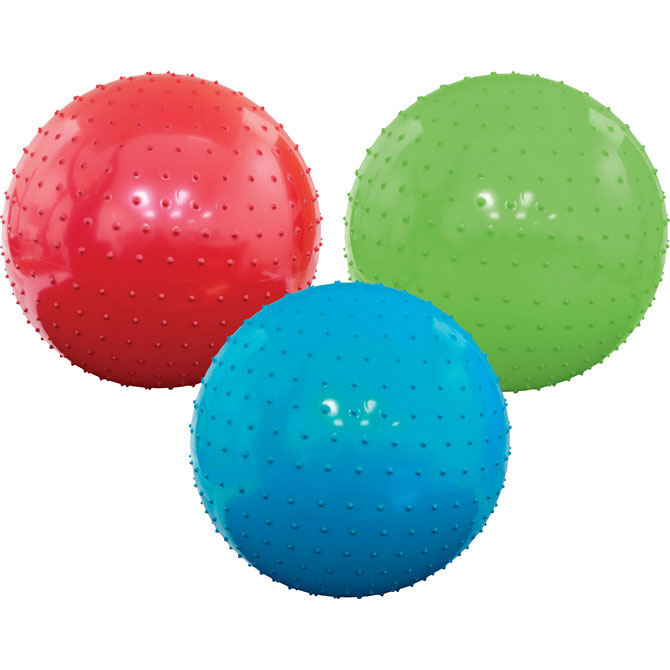 Assorted Color 7 inch Knobby Balls (250 ct)