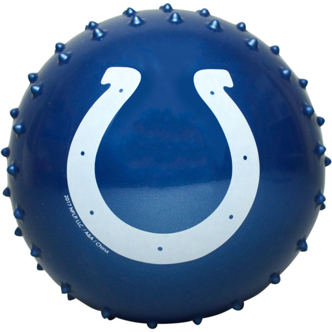 Indianapolis Colts NFL 5 inch Knobby Balls (100 ct)