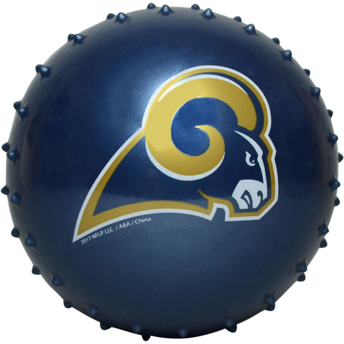 Buy Los Angeles Rams NFL 5 Inch Knobby Balls 100 Ct