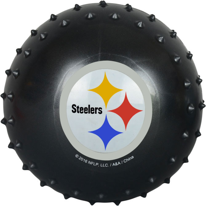 Pittsburgh Steelers NFL 5 inch Knobby Balls (100 ct)
