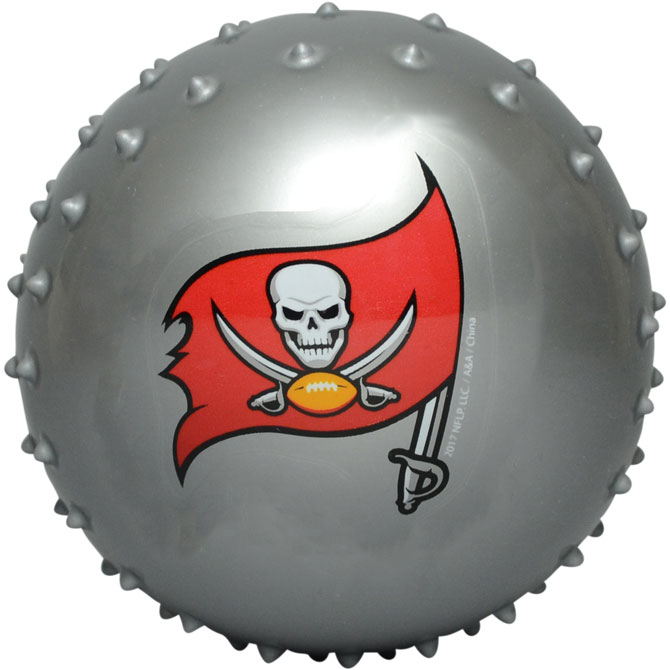 Tampa Bay Buccaneers NFL 5 inch Knobby Balls (100 ct)