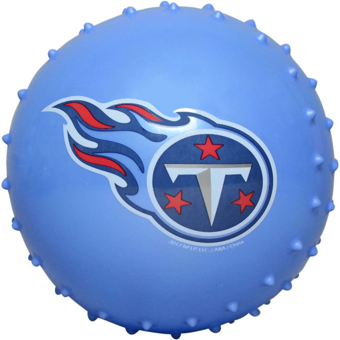 Tennessee Titans NFL 5 inch Knobby Balls (100 ct)