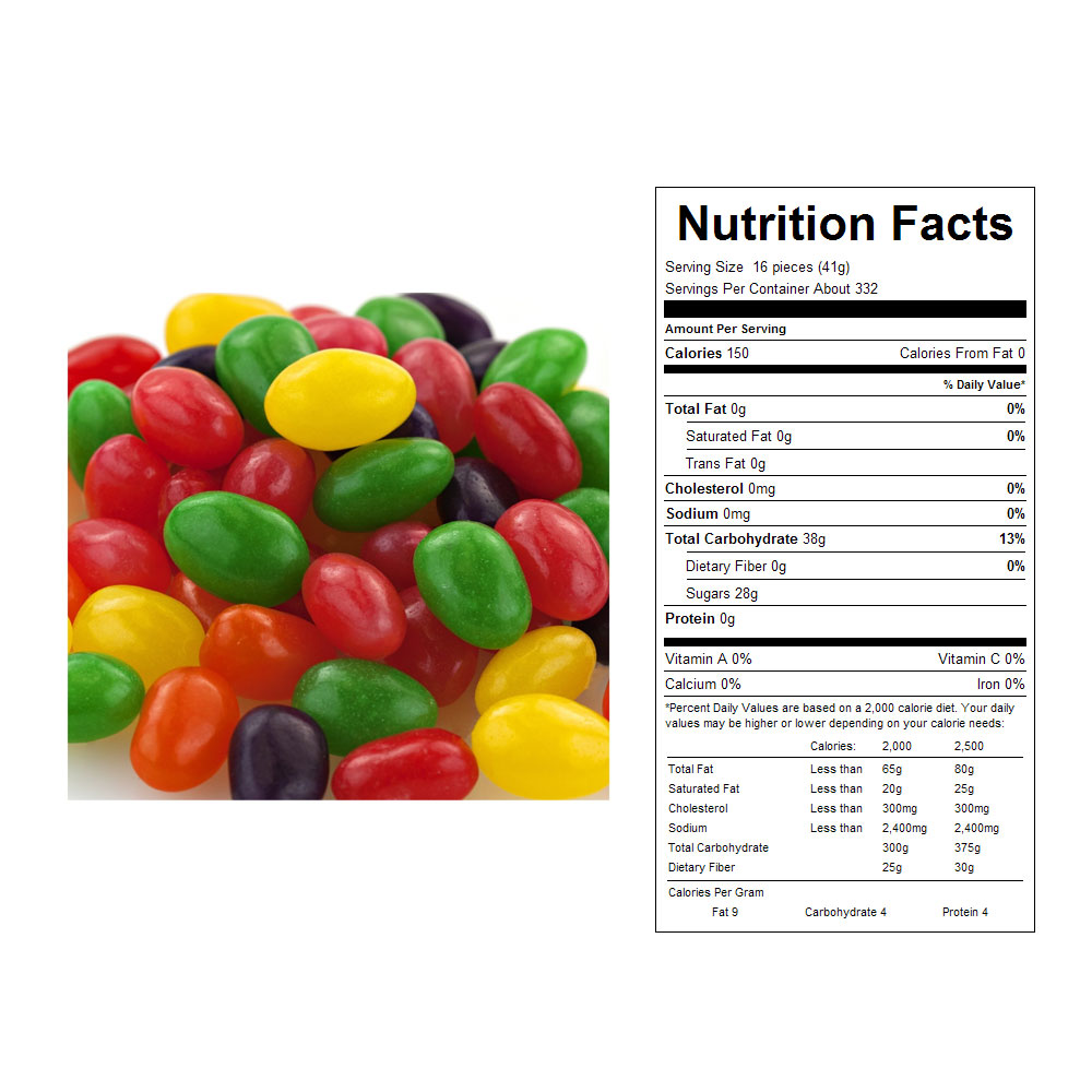 Assorted Jelly Eggs Bulk Candy (30 lbs)