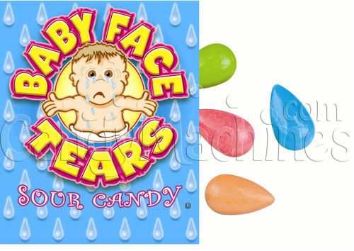 Baby Face Tears Bulk Sour Candy - 15 lbs.