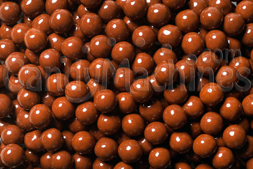 Brown Sixlets Candy Coated Chocolate Balls