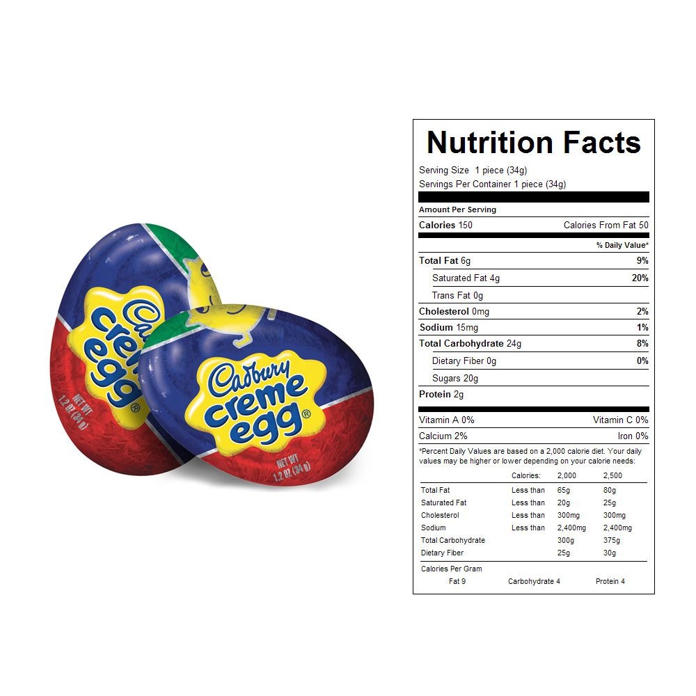 Cadbury Creme Eggs Bulk Candy (48 ct)