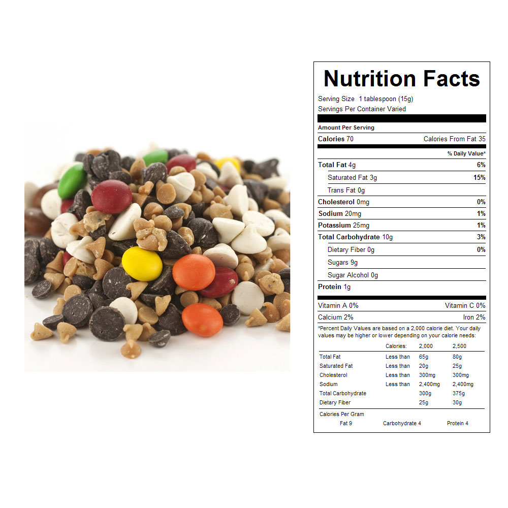 Chocolate Baking Mix Bulk Candy (2/5 lb)
