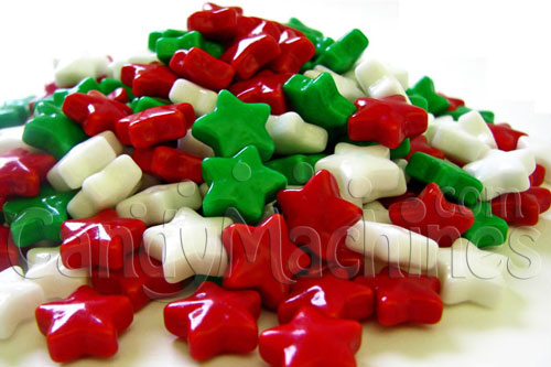 Christmas Stars Candy by The Pound