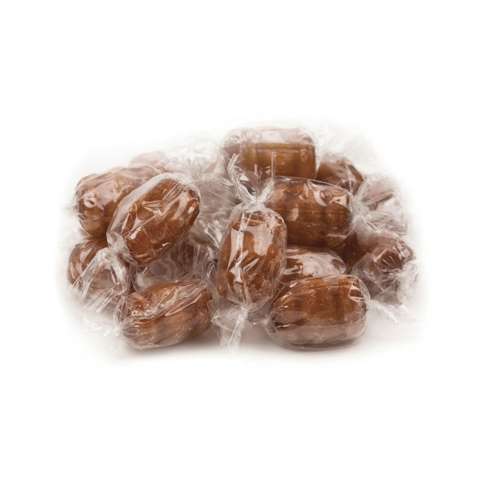 Clear Wrapper, Root Beer Barrels Bulk Candy (10 lbs)