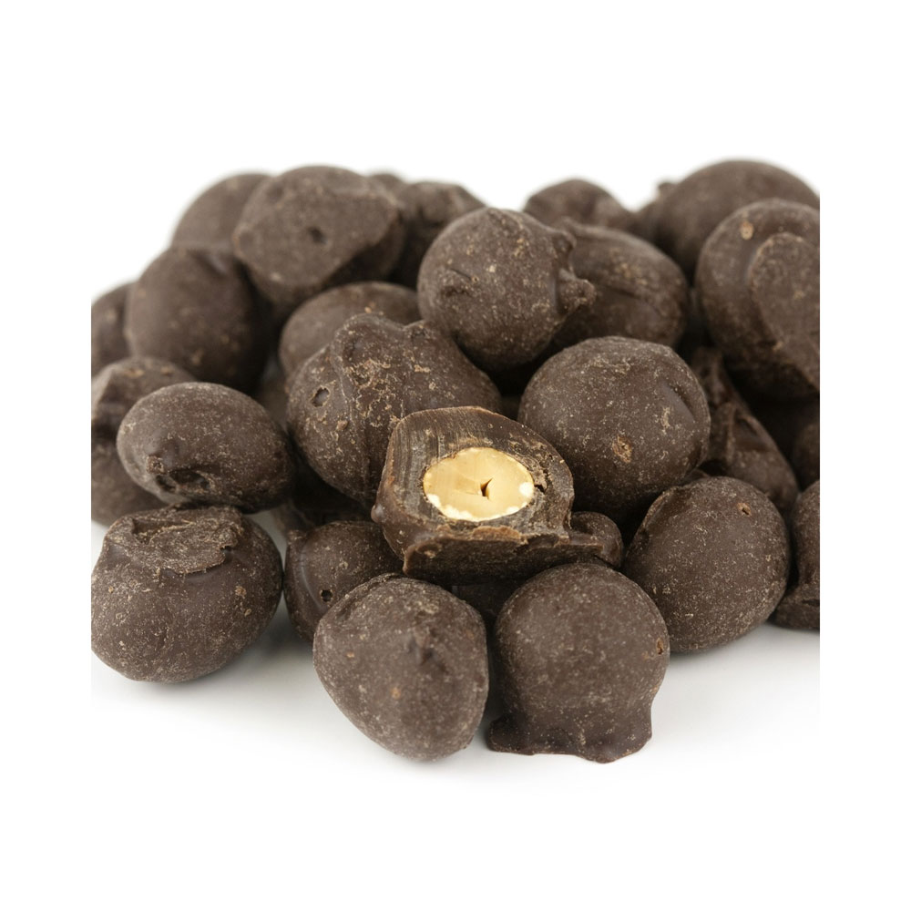 Dark Chocolate Double Dipped Peanuts Bulk Candy (30 lbs)