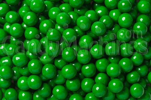 Dark Green Sixlets Candy Coated Chocolate Balls