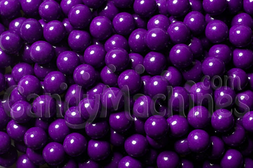Dark Purple Sixlets Candy Coated Chocolate Balls