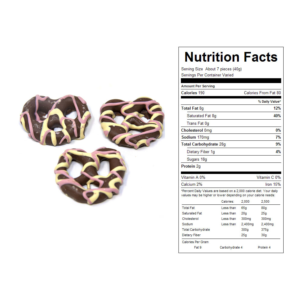 Easter Chocolate Pretzels Bulk Candy (15 lbs)