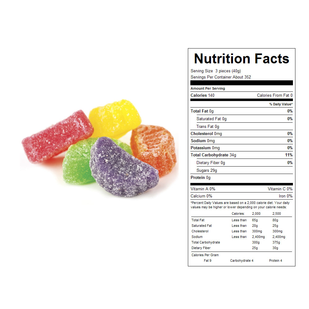 Fruit Slices Bulk Candy (31 lbs)