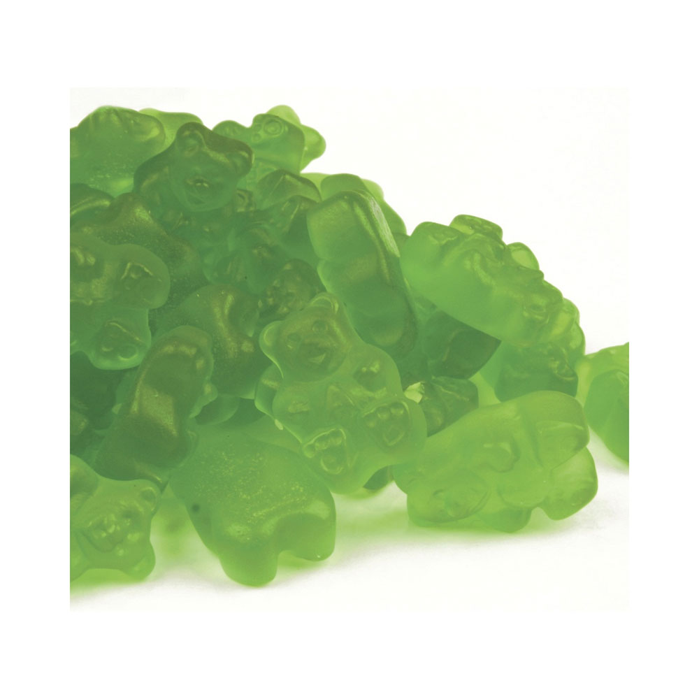 Green Apple Gummy Bears Bulk Candy (20 lbs)