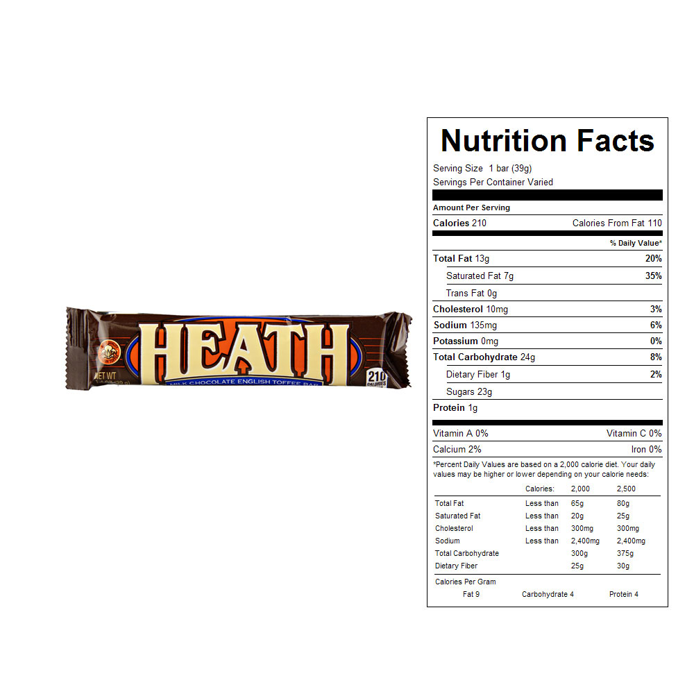 Heath Original Bars (18 ct)