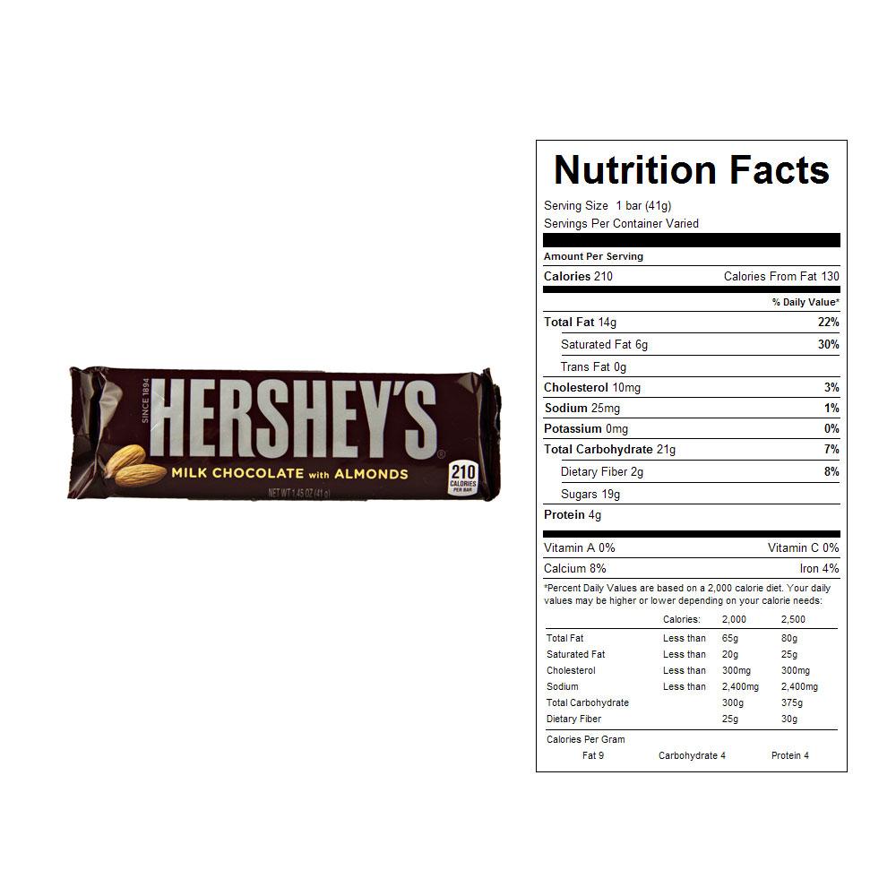 Buy Hershey's Almond Candy Bars (36 ct