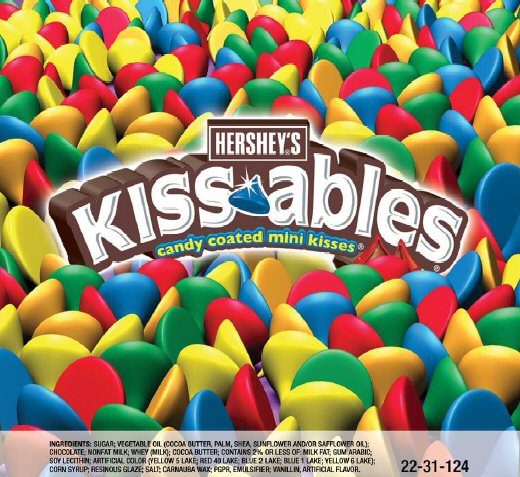 Hershey's Kissables Bag of Candy