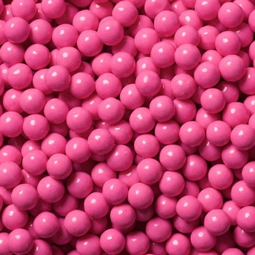 Decorator Candy Beads - Hot Pink