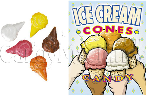 Ice Cream Cones Bulk Candy - 15 lbs.