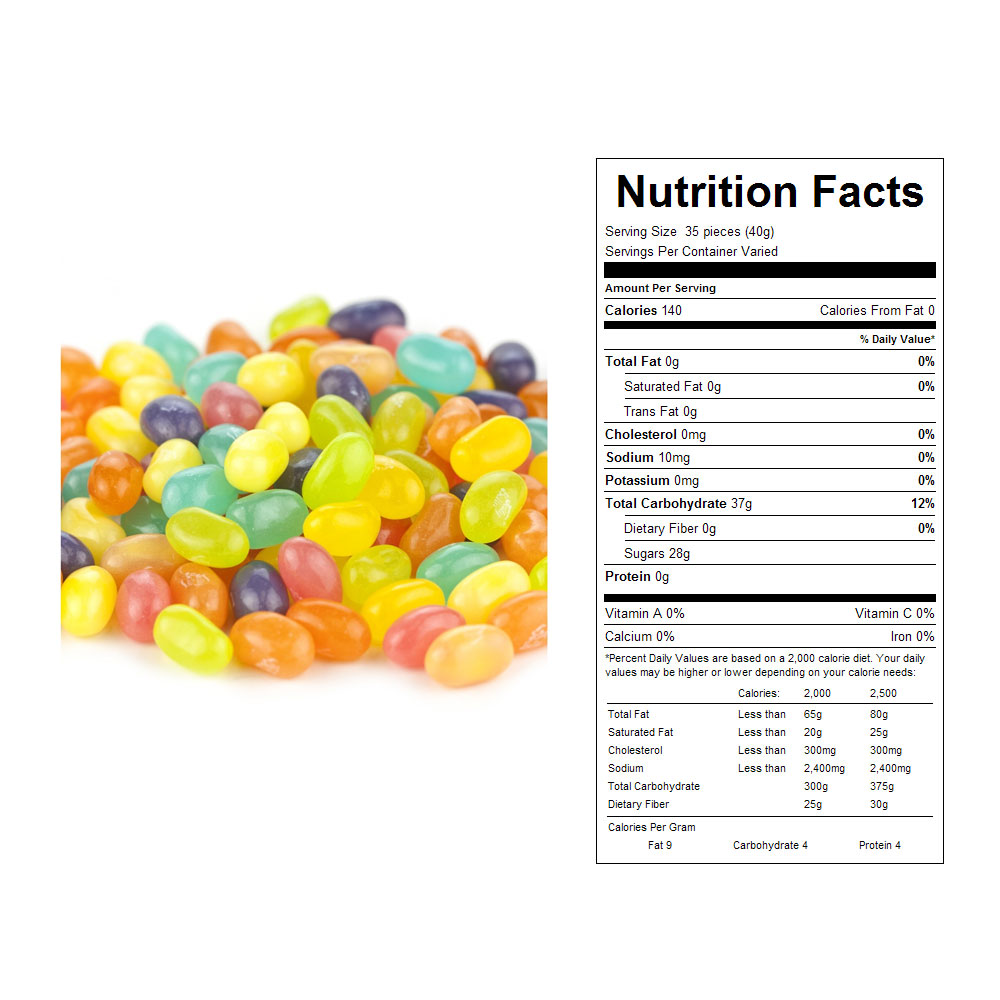 Jelly Belly Spring Mix Bulk Candy (10 lbs)