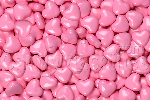 Light Pink Hearts Candy By The Pound