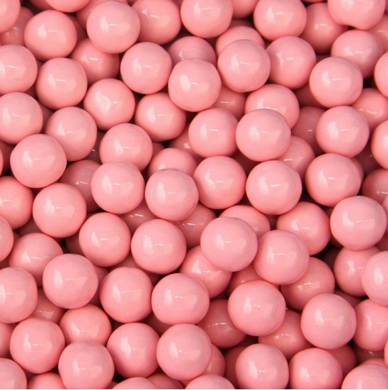 Light Pink Sixlets Candy Coated Chocolate Balls by the Pound