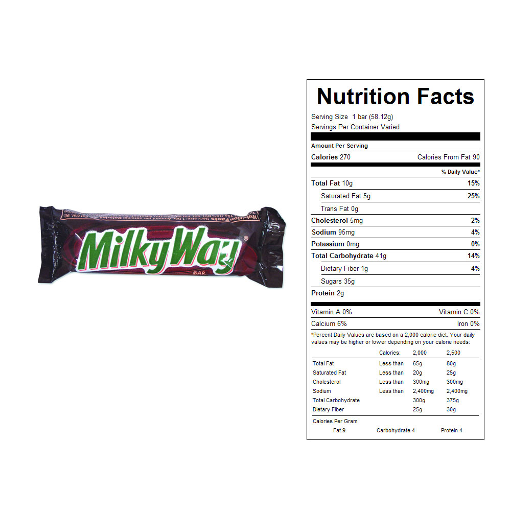 Milky Way Candy Bars (36 ct)