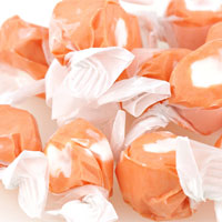 Orange Creme Taffy Bulk Candy (27 lbs)