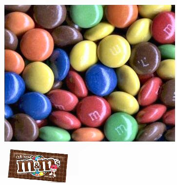 M&M's Mars Bulk Plain Milk Chocolate - 3lbs.