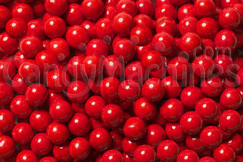 Red Sixlets Candy Coated Chocolate Balls Candy By The Pound