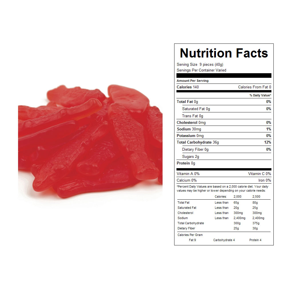 Red Swedish Fish Bulk Candy (5 lbs)