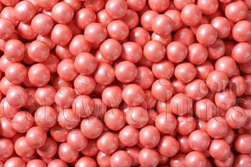 Bulk Vending Sixlets Shimmer Coral Candy - 10 lbs.