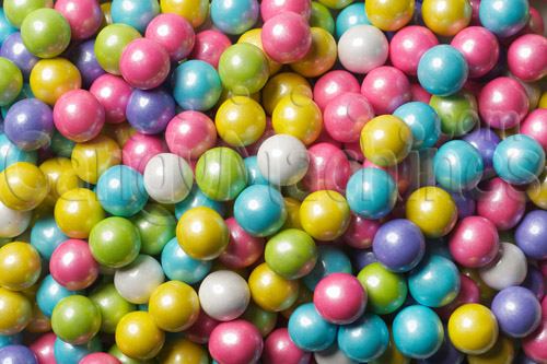 Shimmer Spring Mix Sixlets Candy by the Pound