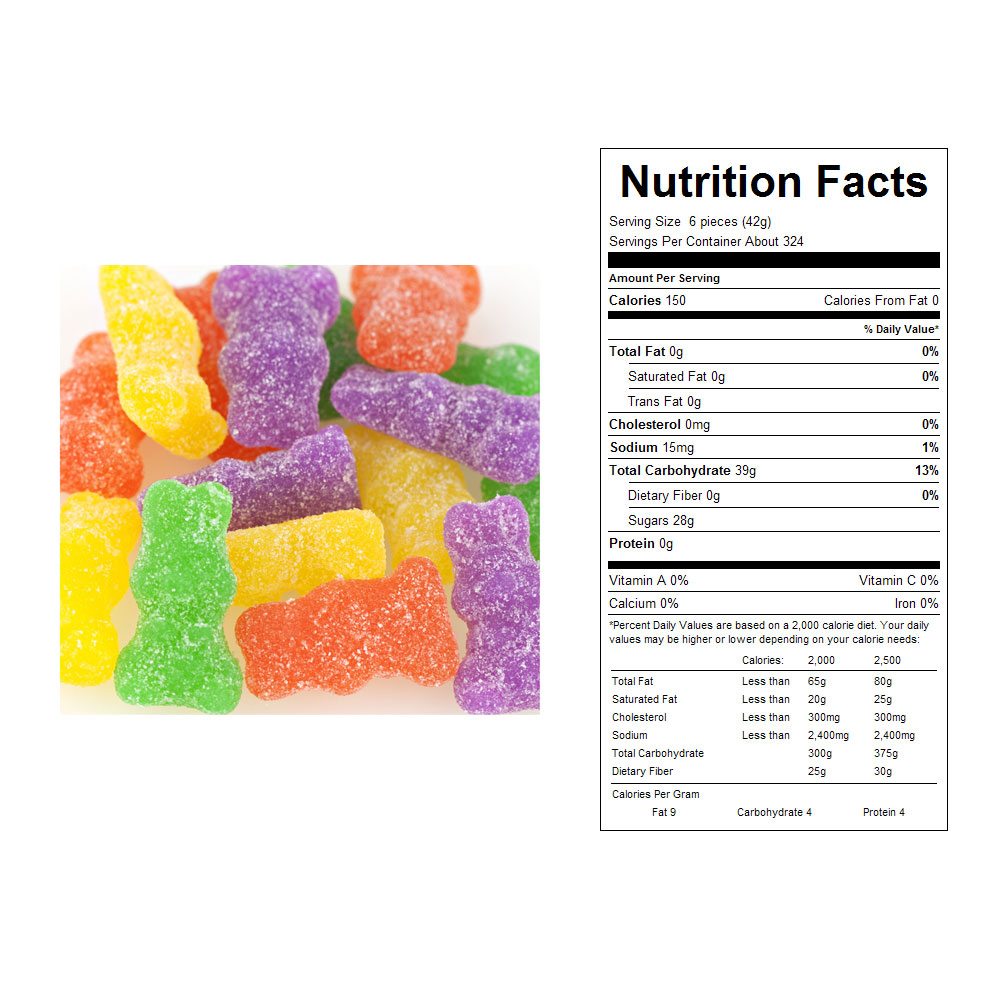 Sour Ju Ju Bunnies Bulk Candy (30 lbs)
