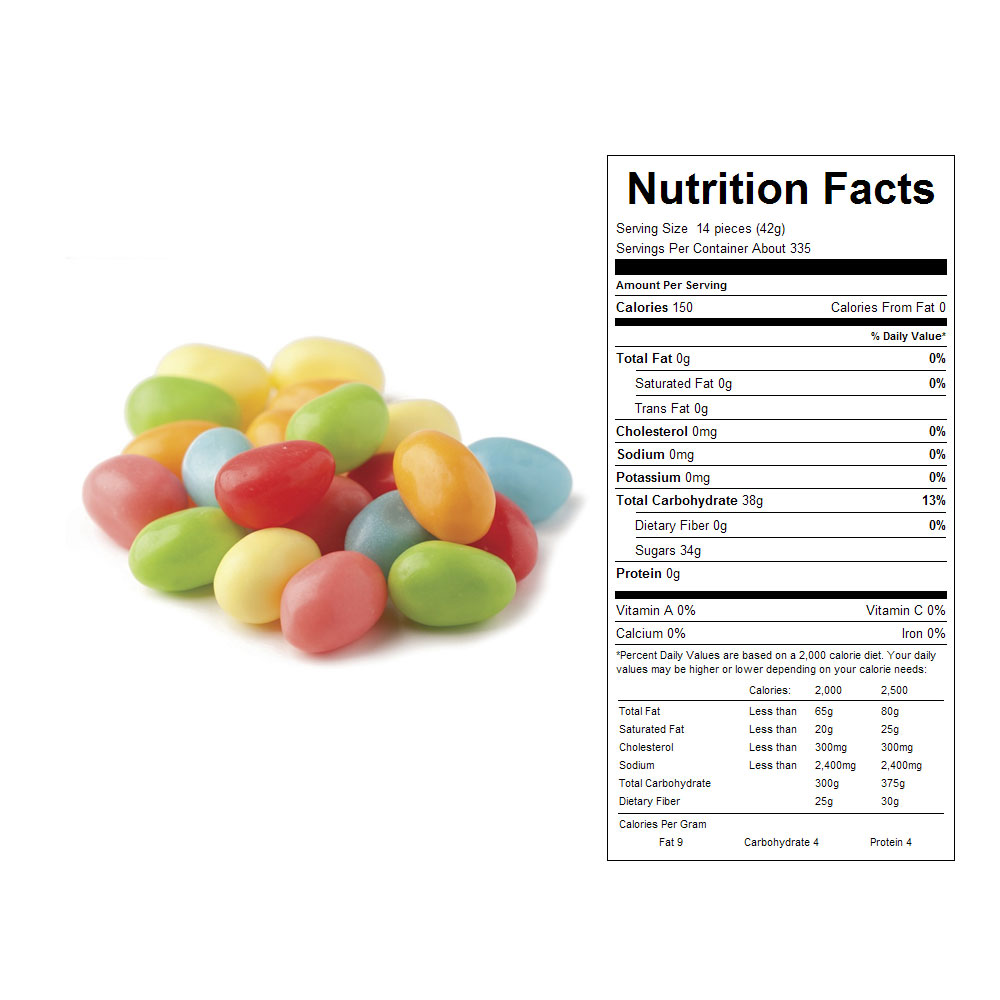 Sour Neon Jelly Eggs Bulk Candy (31 lbs)